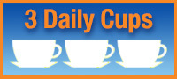 3 daily cups