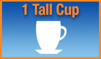 1 tall cup